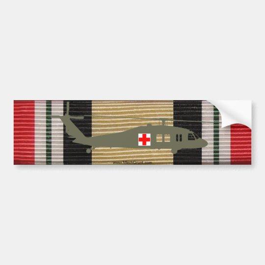 Iraq Campaign Medal Ribbon UH-60M DUSTOFF Sticker