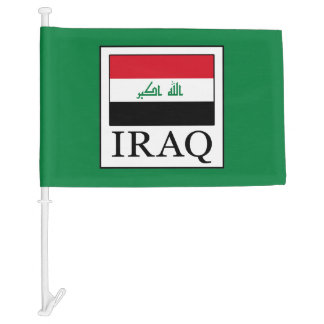 Iraq Car Flag