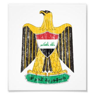 Iraq Coat Of Arms Photo Print