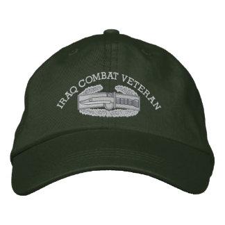 Iraq Combat Action Badge Hat Embroidered Baseball Cap