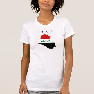 iraq country flag map shape symbol T-Shirt
