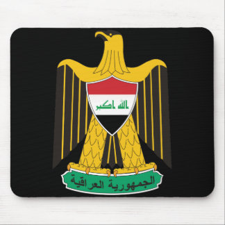 iraq emblem mouse mat