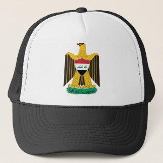 iraq emblem trucker hat