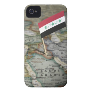 Iraq flag in map iPhone 4 cover