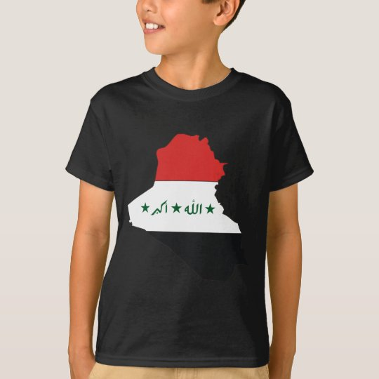Iraq flag map T-Shirt