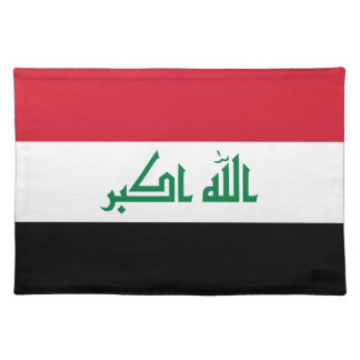 Iraq Flag Placemat