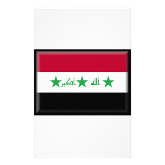 Iraq Flag Personalized Stationery