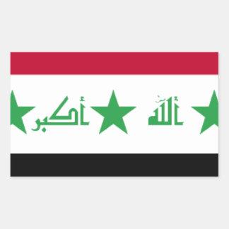 Iraq Flag Stickers
