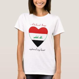 Iraq Flag Sweetheart T-Shirt