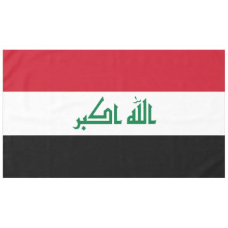 Iraq Flag Tablecloth