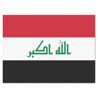 Iraq Flag Tissue Paper