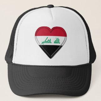 Iraq flag trucker hat