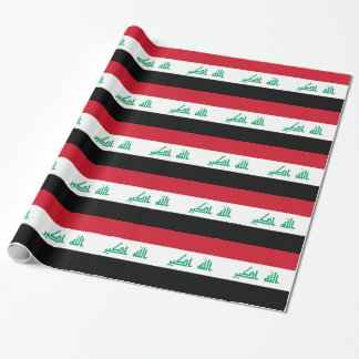 Iraq Flag Wrapping Paper
