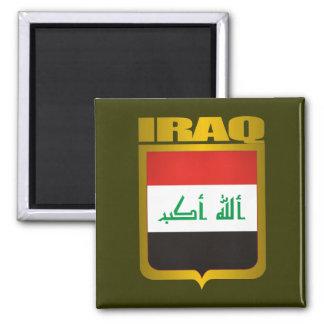 """Iraq Gold"" Square Magnet"