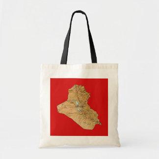 Iraq Map Bag
