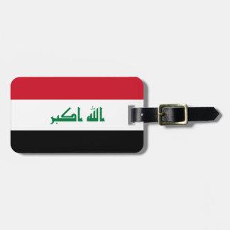 Iraq National World Flag Luggage Tag