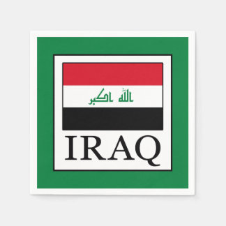 Iraq Paper Napkins