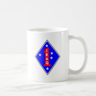 Iraq Patch #1 Basic White Mug