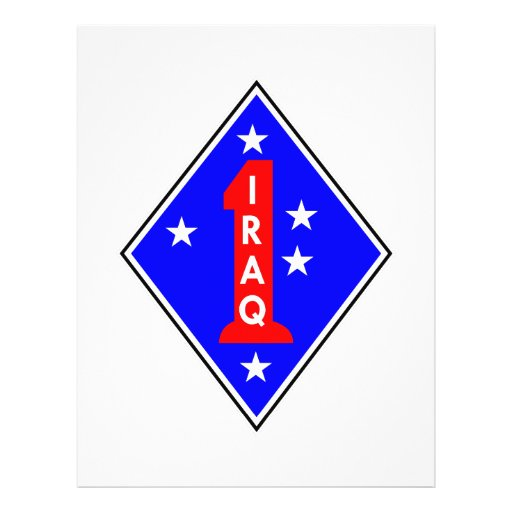 Iraq Patch #1 Flyer