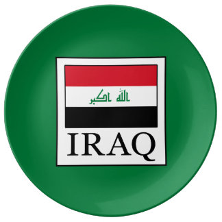 Iraq Porcelain Plates