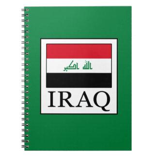 Iraq Spiral Notebook