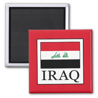 Iraq Square Magnet
