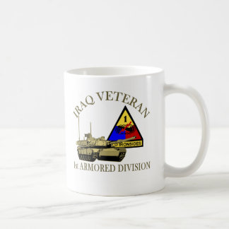 Iraq Vet - 1st AD Coffee Mug