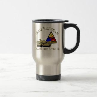 Iraq Vet - 1st AD Travel Mug