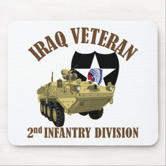 Iraq Vet 2nd ID Stryker Mouse Pads