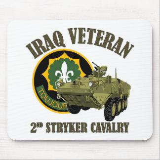 Iraq Vet 2nd SCR Stryker Mouse Pads