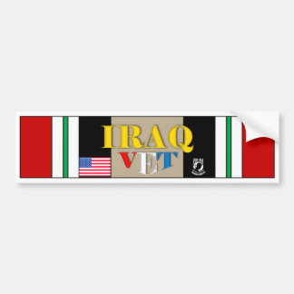 IRAQ VET BUMPER STICKER