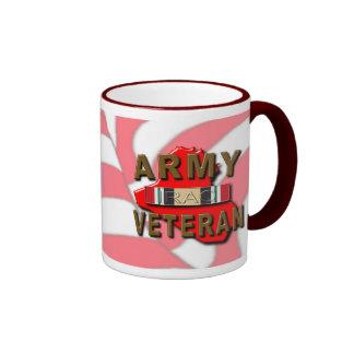 Iraq Veteran Service Ribbon, ARMY Mugs