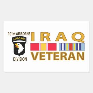 Iraq Veteran Rectangle Sticker