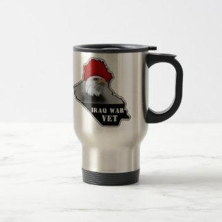 Iraq War Military Veteran Stainless Steel Travel Mug