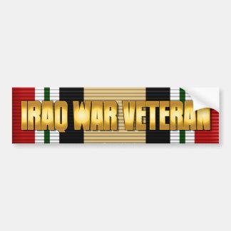 IRAQ WAR VETERAN BUMPER STICKERS