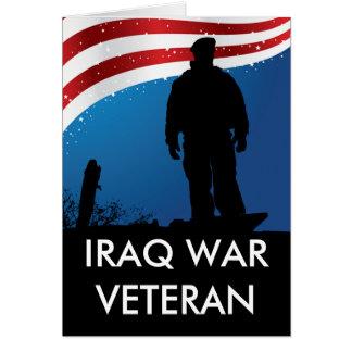 Iraq War Veteran Card