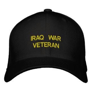 IRAQ WAR VETERAN EMBROIDERED HAT