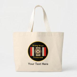 "Iraq War Veteran ""Navy"" Tote Bag"