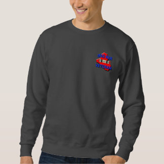 Iraq War Veteran Service Ribbon Sweatshirt