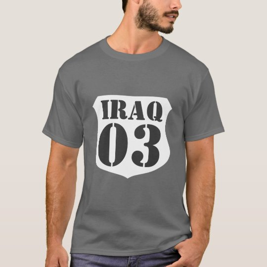 Iraq war veteran t-shirt - Customisable by year