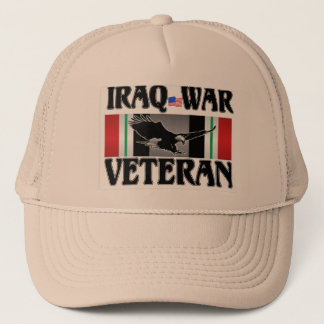 IRAQ WAR VETERAN TRUCKER HAT