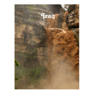 Iraq Waterfall Postcard