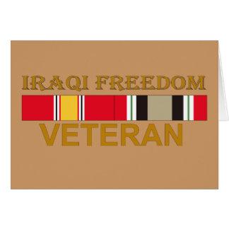 Iraqi Freedom Veteran - Cards