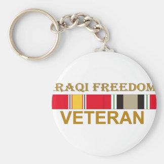 Iraqi Freedom Veteran Keychains