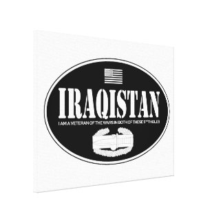 Iraqistan CAB Stretched Canvas Print