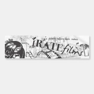 iRATE sticker Bumper Stickers
