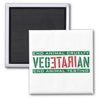 Irate Vegetarian Magnet