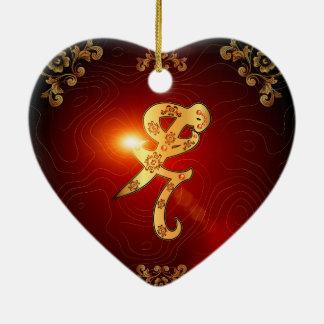 Iratze the rune christmas ornament