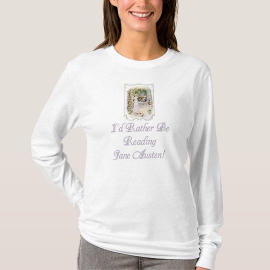 IRBR Jane Austen Ladies Light Long Slv T, 3 T-Shirt