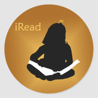 iRead Round Sticker
